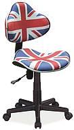 Dětská otočná židle Q-G2 vlajka