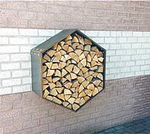 Dřevník Woodbee Wall