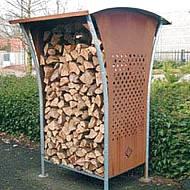 Dřevník Woodstocker