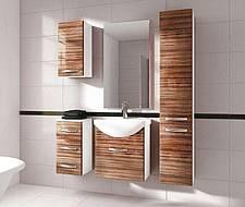 Koupelnová sestava KORAL - zebrano - VÝPRODEJ