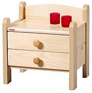 Noční stolek z masivu THORO