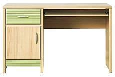 PC stůl CODI 11 - zelený - VÝPRODEJ