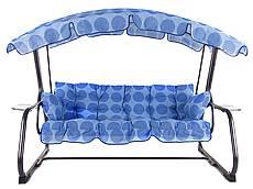 Polstry na houpačku RAVEN - modré