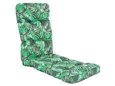 Sedák na křeslo - dlouhý, zelený