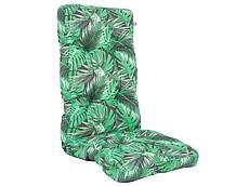 Sedák na křeslo - krátký, zelený