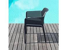 Zahradní židle Leo - antracit